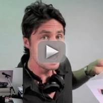 Zach braff inspired marriage proposal