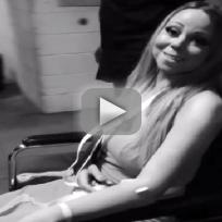 Mariah Carey Exits Hospital
