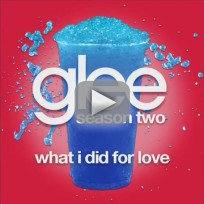 Glee cast what i did for love