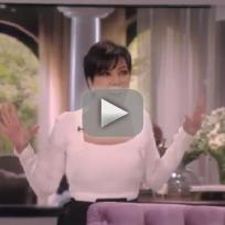 Kris Jenner Talk Show Opening