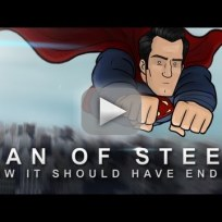 How man of steel should have ended video