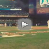 Fan Interrupts All-Star Game
