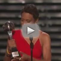 Robin roberts receives arthur ashe award 2013 espys