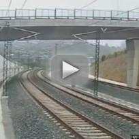 Spain Train Crash Video