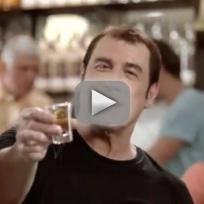 John travolta rum commercial