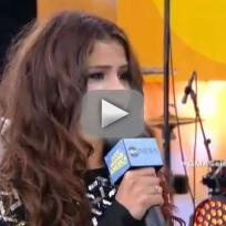 Selena Gomez GMA Interview