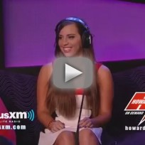 Sydney leathers howard stern interview