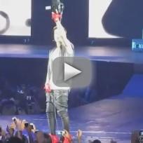 Justin Bieber Concert Clip