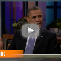 Obama on Tonight Show - Global Security