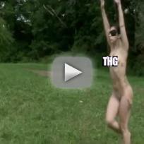 Lady Gaga Nude For Marina Abramovic
