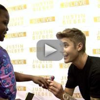 Justin Bieber Spends Time with Ailing Fan