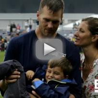 Gisele Bundchen-Tom Brady Family PDA