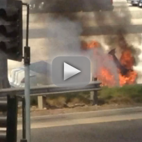 Dick-van-dyke-rescued-from-flaming-car