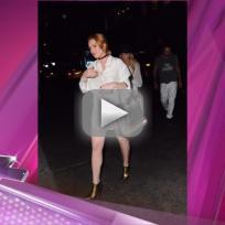 Lindsay Lohan: No Pants Time!