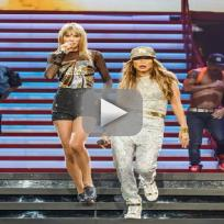 "Taylor Swift and Jennifer Lopez - ""Jenny from the Block"""