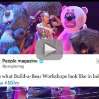 Miley Cyrus Video Music Awards Performance: Twitter Reacts!
