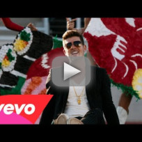Robin Thicke - Give It 2 U (Music Video) ft. Kendrick Lamar & 2 Chainz