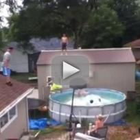 Triple Pool Alley-Oop: WHOA!
