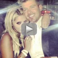 Robin Thicke Busted Grabbing Fan's Butt