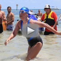 Diana Nyad Sets Swimming Record