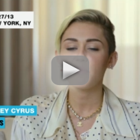 Miley Cyrus Speaks on VMA Performance