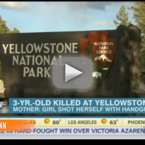 Yellowstone Shooting Results in Death of Toddler