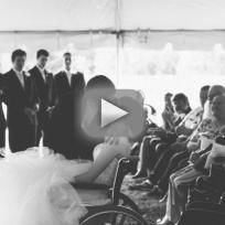 Bride in Wheelchair Inspires the Internet