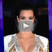 Kim Kardashian Kuts Out on Chrissy Teigen Wedding