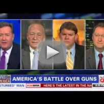 Piers Morgan Unloads on Pro-Gun Panel