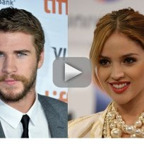 Eiza Gonzalez and Liam Hemsworth: Spotted in Los Angeles!