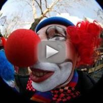 Clown Terrorizes British Town