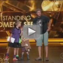 Will Ferrell, Kids Present at the Emmys