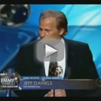Jeff Daniels Wins Emmy, Heisenberg Reacts