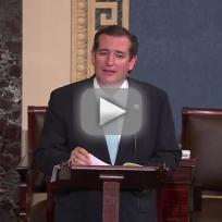 Ted Cruz Reads Green Eggs & Ham on Senate Floor