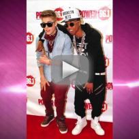 Justin bieber kicks out lil twist lil za