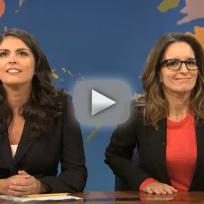 Tina Fey SNL Clip - Passing the Baton