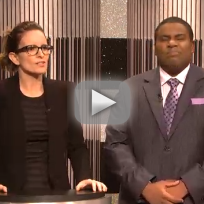 Tina fey snl clip new cast member or arcade fire
