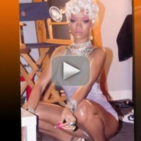 "Rihanna ""Pour it Up"" Video Sneak Peek"