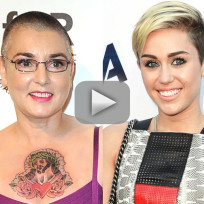 Sinead O'Connor Slams Miley Cyrus
