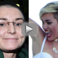 Miley Cyrus-Sinead O'Connor Feud: Choose a Side!