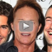 Brody and Brandon Jenner: Stoked For Bruce!