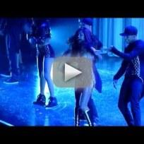 Selena Gomez Falls During Concert
