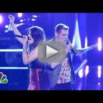 "Grey vs. Nic Hawk: ""Domino"" - The Voice Battle Round"
