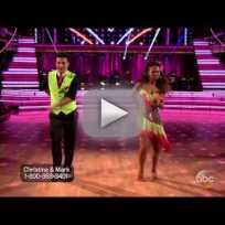 Christina milian and mark ballas dancing with the stars week 5