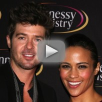 Paula Patton Says Robin Thicke Is Well-Endowed