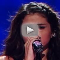 Selena Gomez: Crying Over Justin Bieber