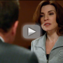 The good wife promo hitting the fan