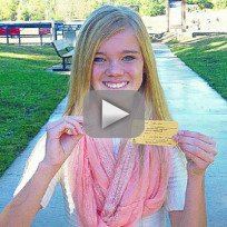 Girl Finds VERY Expensive Diamond in Park