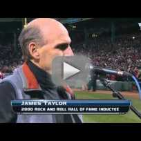 James Taylor Messes Up The National Anthem