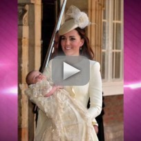 Kate Middleton Fashion at Prince George Christening